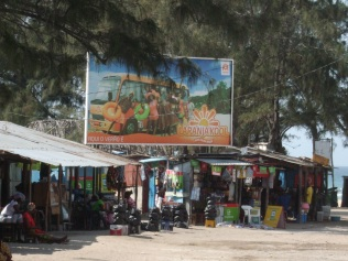 Down town Tofo market