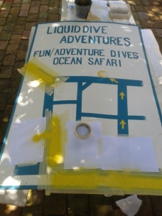 Adjustments made to the beach sign